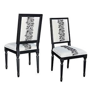 Linon Rose Square Back Accent Chair 2-piece Set