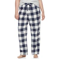 Juniors' Plus Size SO® Pajamas: Naptime Squad Flannel Pants