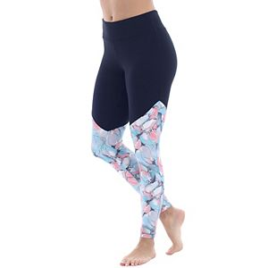 Women's Balance Collection Charlotte Spliced Print Leggings