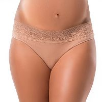 Maternity Pip & Vine by Rosie Pope Seamless Lace Thong Panty PV10333