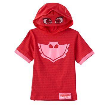 Toddler Girl PJ Masks Owlette Hooded Tee