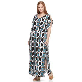Plus Size Apt. 9® Strappy-Back Maxi Dress