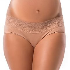 Maternity Pip & Vine by Rosie Pope Seamless Lace Hipster Panty PV10334