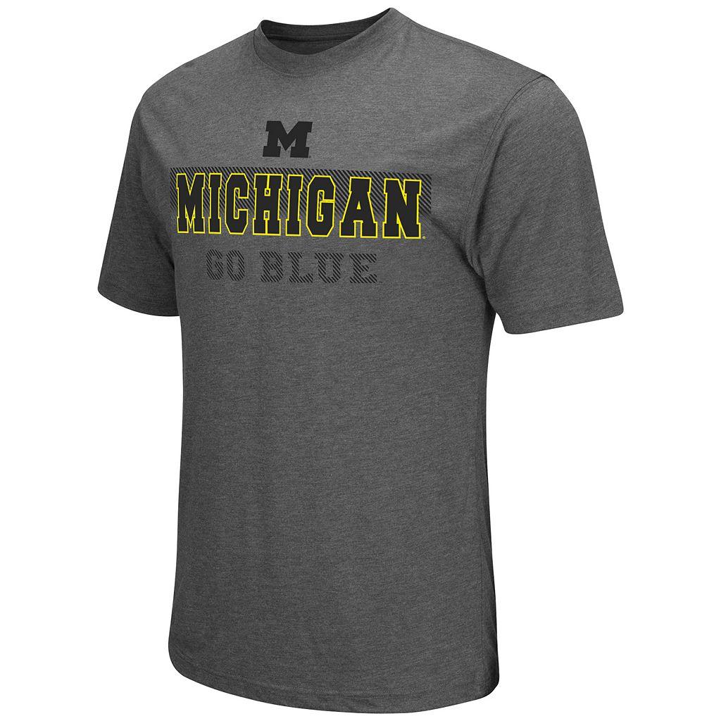 Men's Campus Heritage Michigan Wolverines Prism Tee