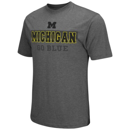 Men's Campus Heritage Michigan Wolverines Prism Tee