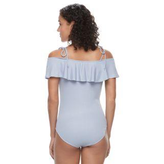 Juniors' Mudd® Off The Shoulder Bodysuit