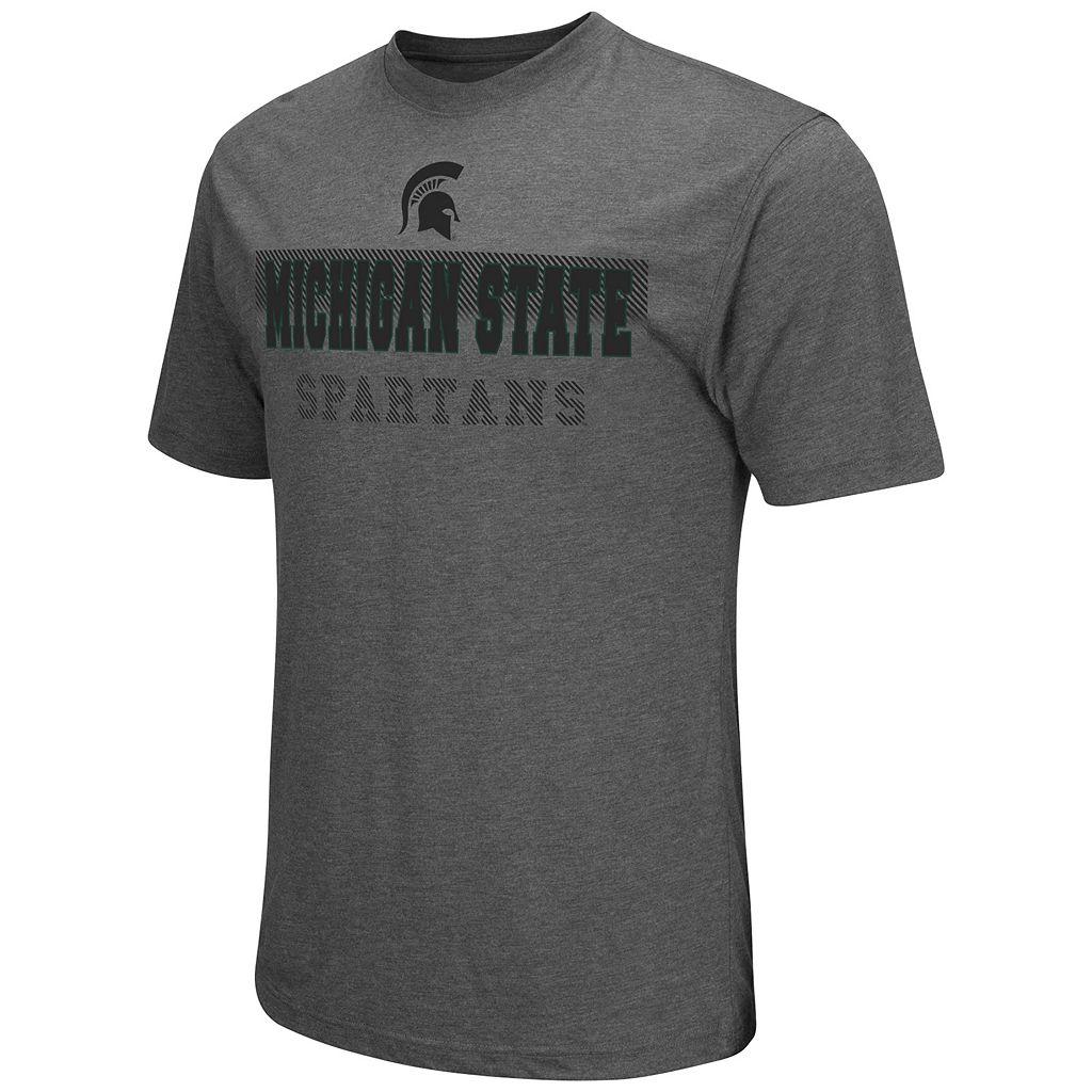Men's Campus Heritage Michigan State Spartans Prism Tee