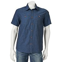 Men's Ocean Current Radiator Button-Down Shirt