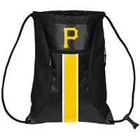 Forever Collectibles Pittsburgh Pirates Striped Zipper Drawstring Backpack