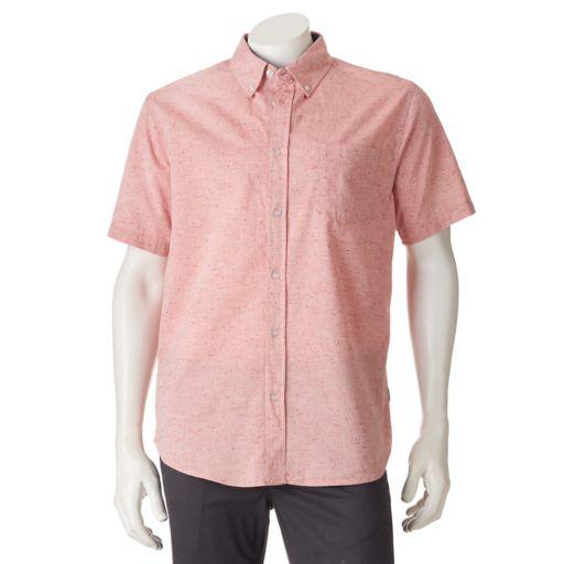 Men's Ocean Current Orbic Button-Down Shirt