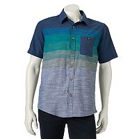 Men's Ocean Current Mower Button-Down Shirt