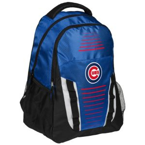 Forever Collectibles Chicago Cubs Stripe Franchise Backpack