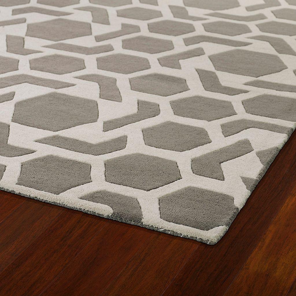 Kaleen Revolution Geometric Star Wool Rug - 8' x 11'
