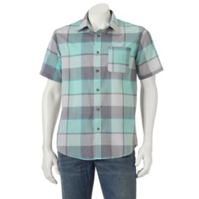 Men's Ocean Current Fuman Plaid Button-Down Shirt