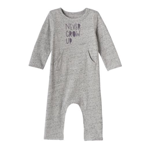 "Baby Jumping Beans® ""Never Grow Up"" Nep Coverall"