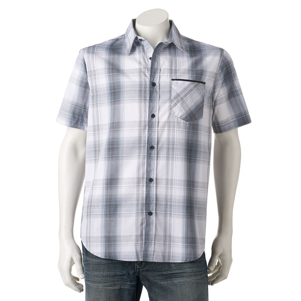 Men's Ocean Current Extreme Button-Down Shirt
