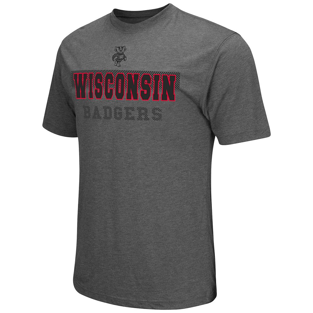 Men's Colosseum Wisconsin Badgers Prism Tee