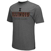 Men's Campus Heritage Illinois Fighting Illini Prism Tee