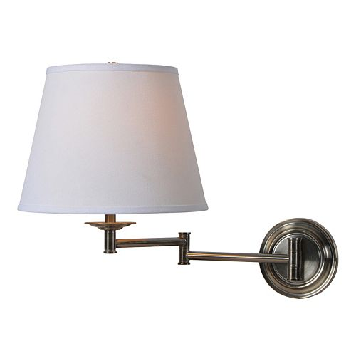 Kenroy Home Architect Swing-Arm Wall Lamp