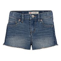Girls 7-16 Levi's Novelty Embroidered Shortie Shorts