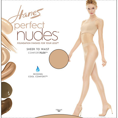 Hanes Perfect Nudes Sheer to Waist Pantyhose