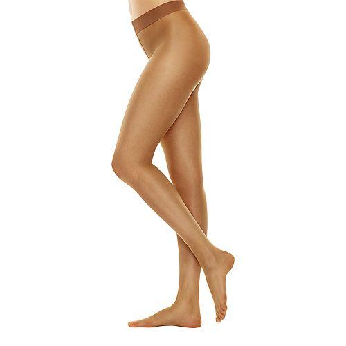 Nude silky pantyhose quick look — 11