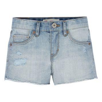 Girls 7-16 Levi's Novelty Shorty Jean Shorts