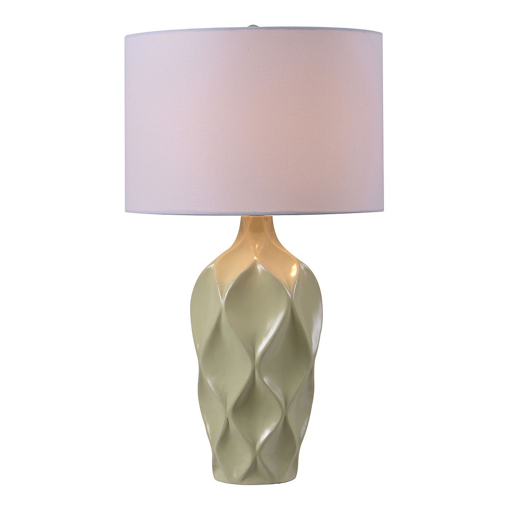 Kenroy Home Newport Textured Table Lamp