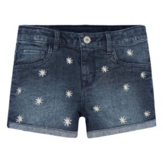 Girls 7-16 Levi's Embroidered Pattern Shortie Shorts