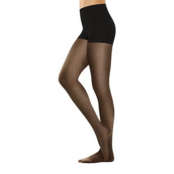 Hanes Perfect Nudes Micro Net Pantyhose