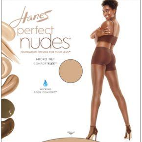Hanes Perfect Nudes Micro Net Pantyhose