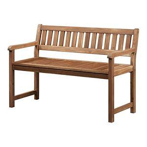 Linon Catalan Patio Bench