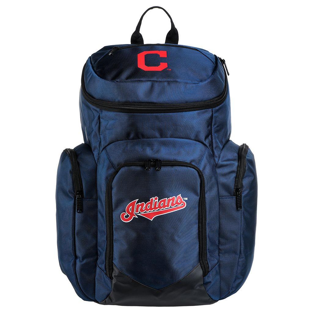 Forever Collectibles Cleveland Indians Traveler Backpack