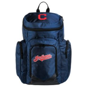 Forever Collectibles Cleveland Indians Traveler Backpack