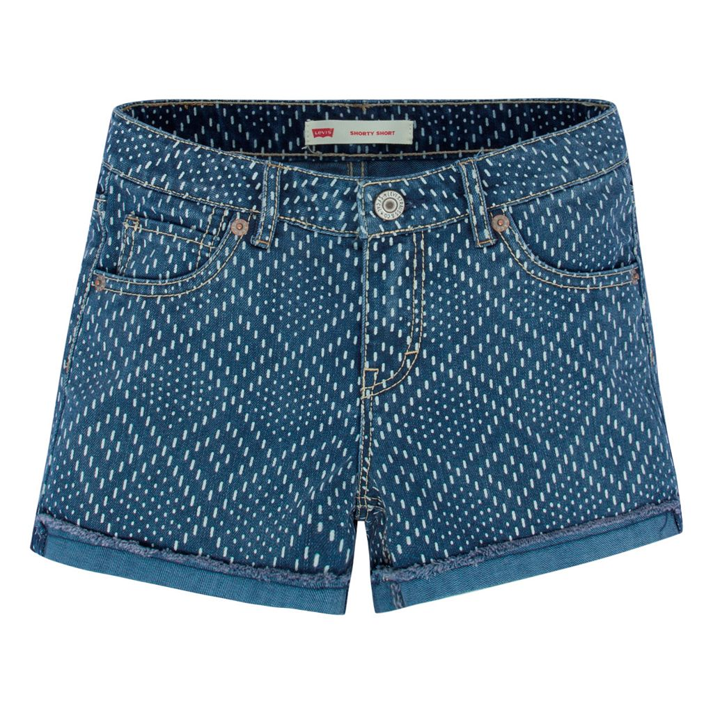 Girls 7-16 Levi's Scarlett Diamond Shortie Shorts