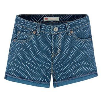Girls 7-16 Levi's Scarlett Diamond Shortie Shorts