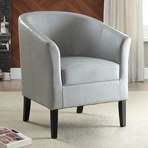 Linon Simon Arm Accent Chair