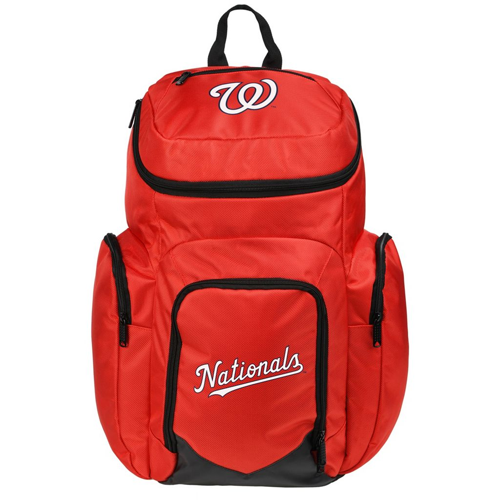 Forever Collectibles Washington Nationals Traveler Backpack