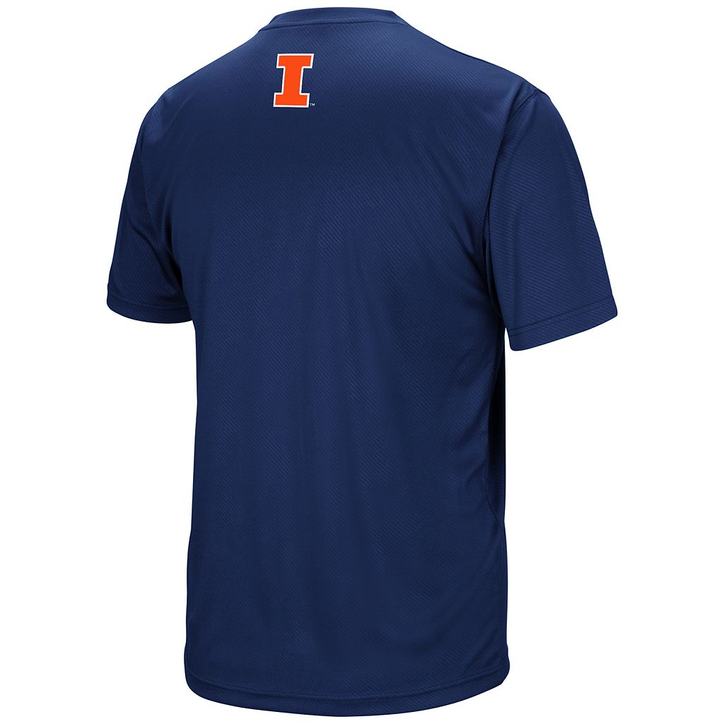 Men's Campus Heritage Illinois Fighting Illini Embossed Tee