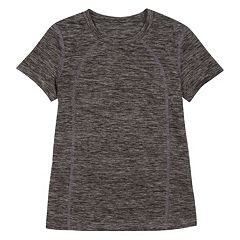 Girls 4-6x New Balance Solid Slubbed Tee