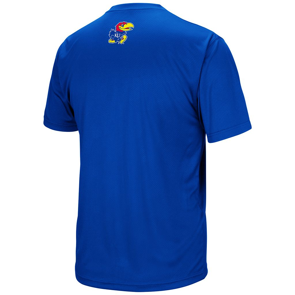 Men's Campus Heritage Kansas Jayhawks Embossed Tee