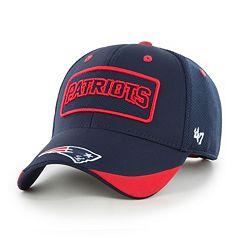 Adult '47 Brand New EnglandPatriots Quick Step MVP Adjustable Cap