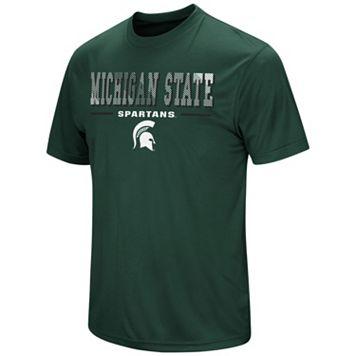 Men's Campus Heritage Michigan State Spartans Embossed Tee