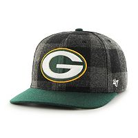 Adult '47 Brand Green Bay Packers Vessel MVP Adjustable Cap
