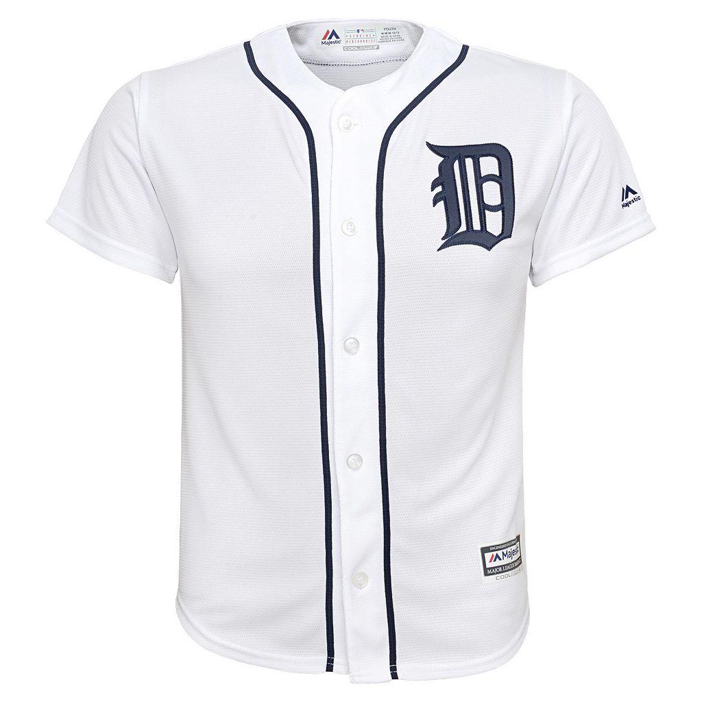 Boys 8-20 Majestic Detroit Tigers Miguel Cabrera Replica Jersey