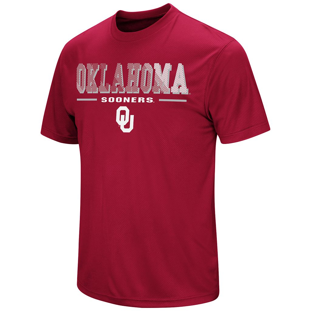 Men's Campus Heritage Oklahoma Sooners Embossed Tee