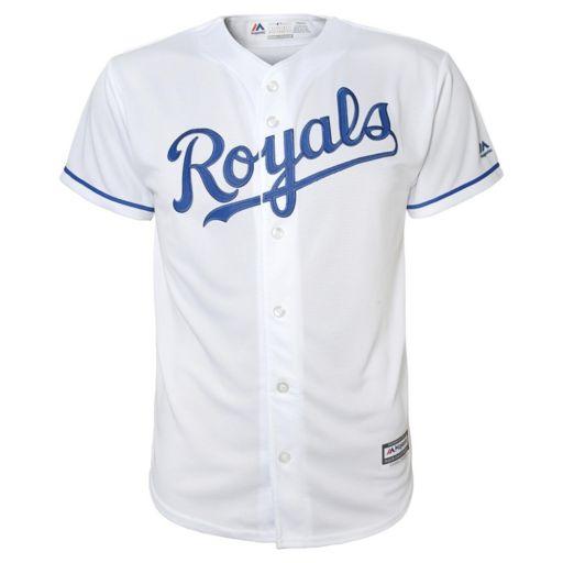 Boys 8-20 Majestic Kansas City Royals Alex Gordon Replica Jersey