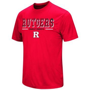 Men's Campus Heritage Rutgers Scarlet Knights Embossed Tee