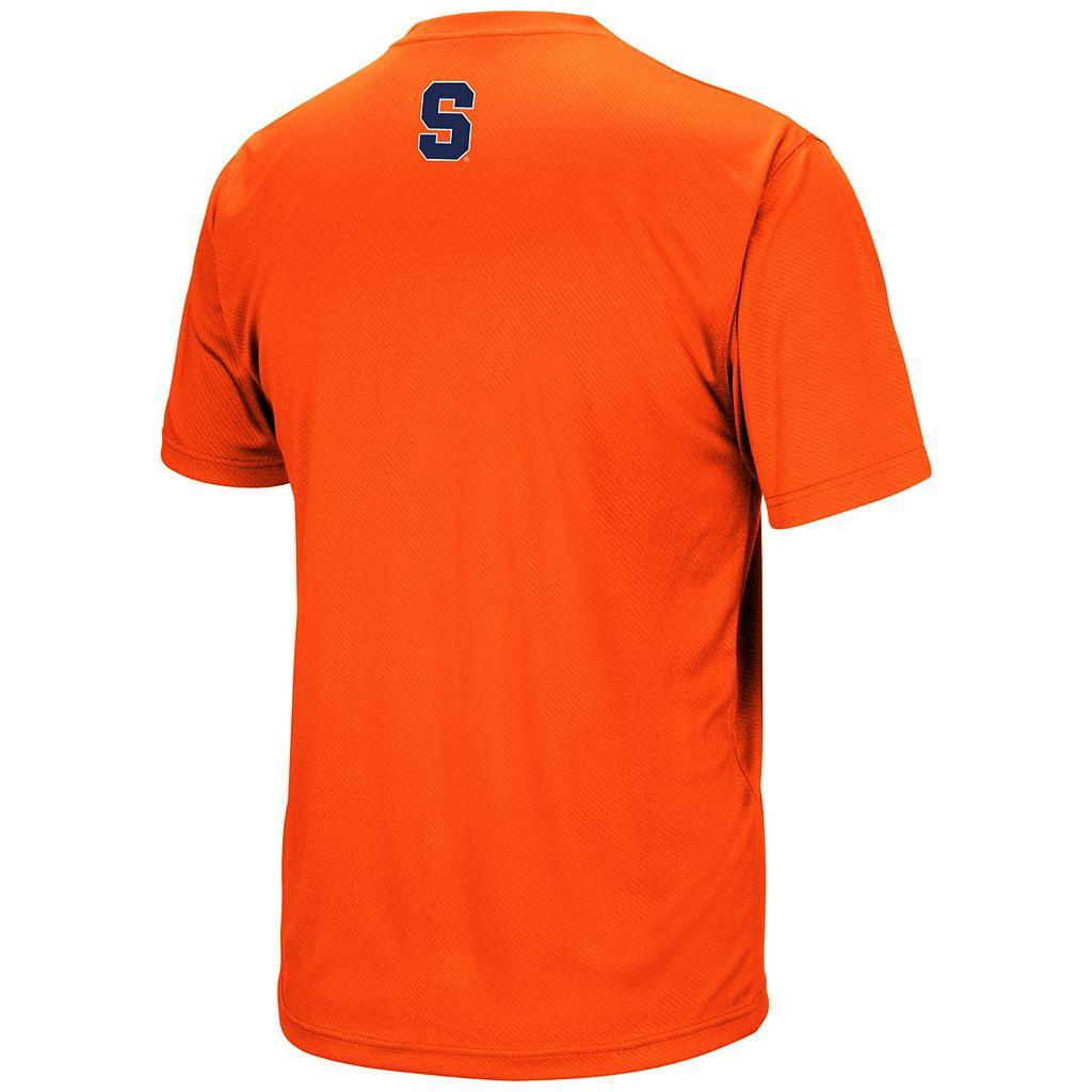 Men's Campus Heritage Syracuse Orange Embossed Tee