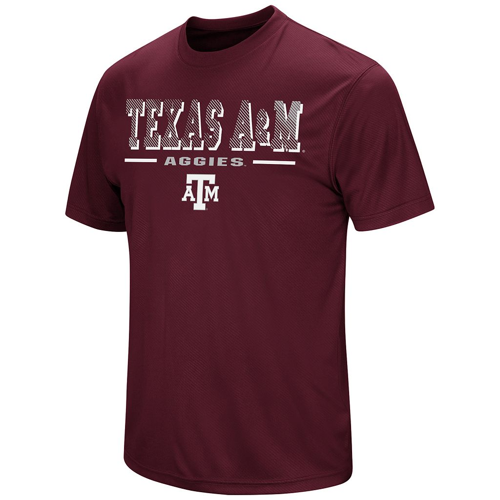 Men's Campus Heritage Texas A&M Aggies Embossed Tee